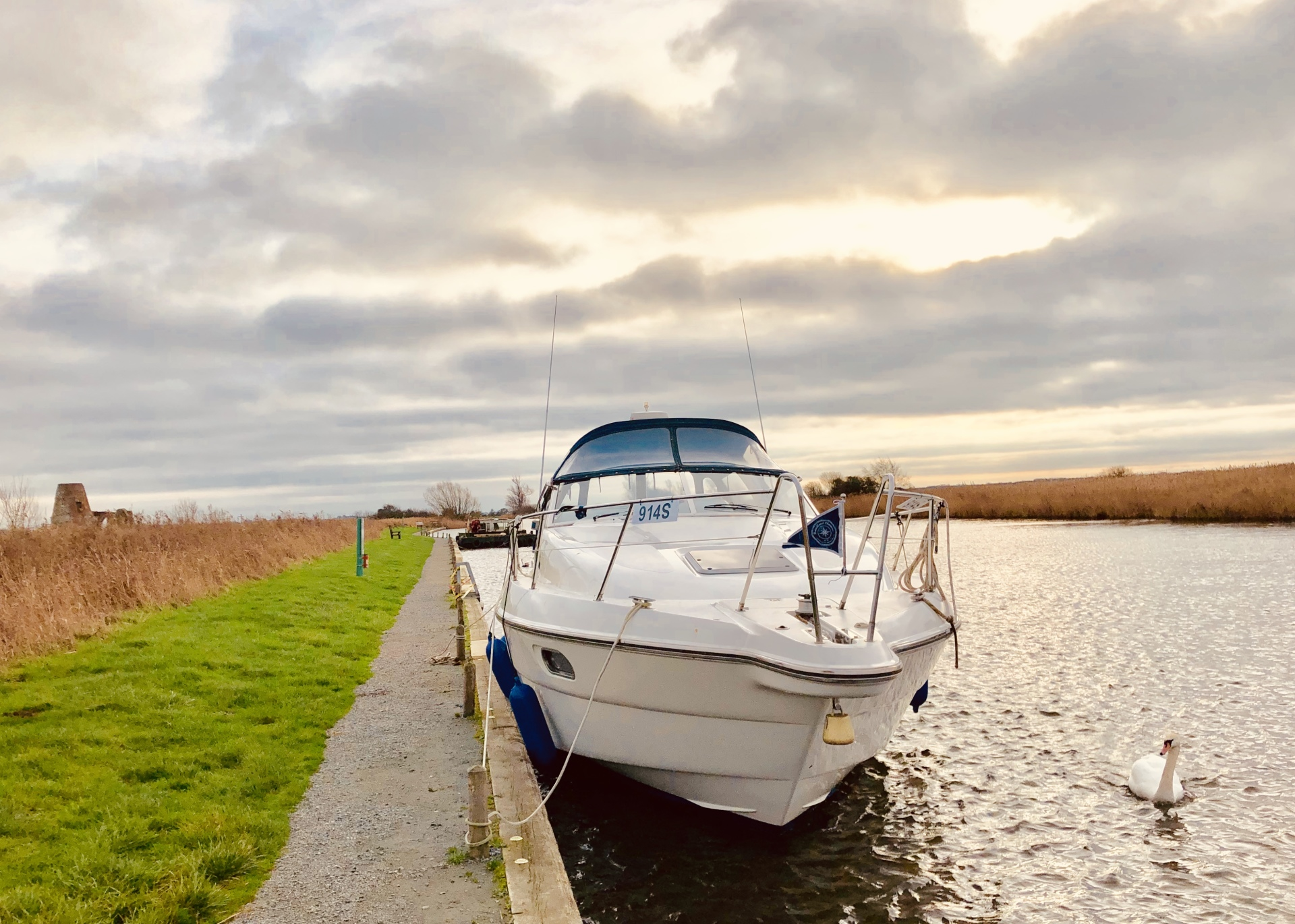 Norfolk Time at St Benets Abbey over Christmas 2018