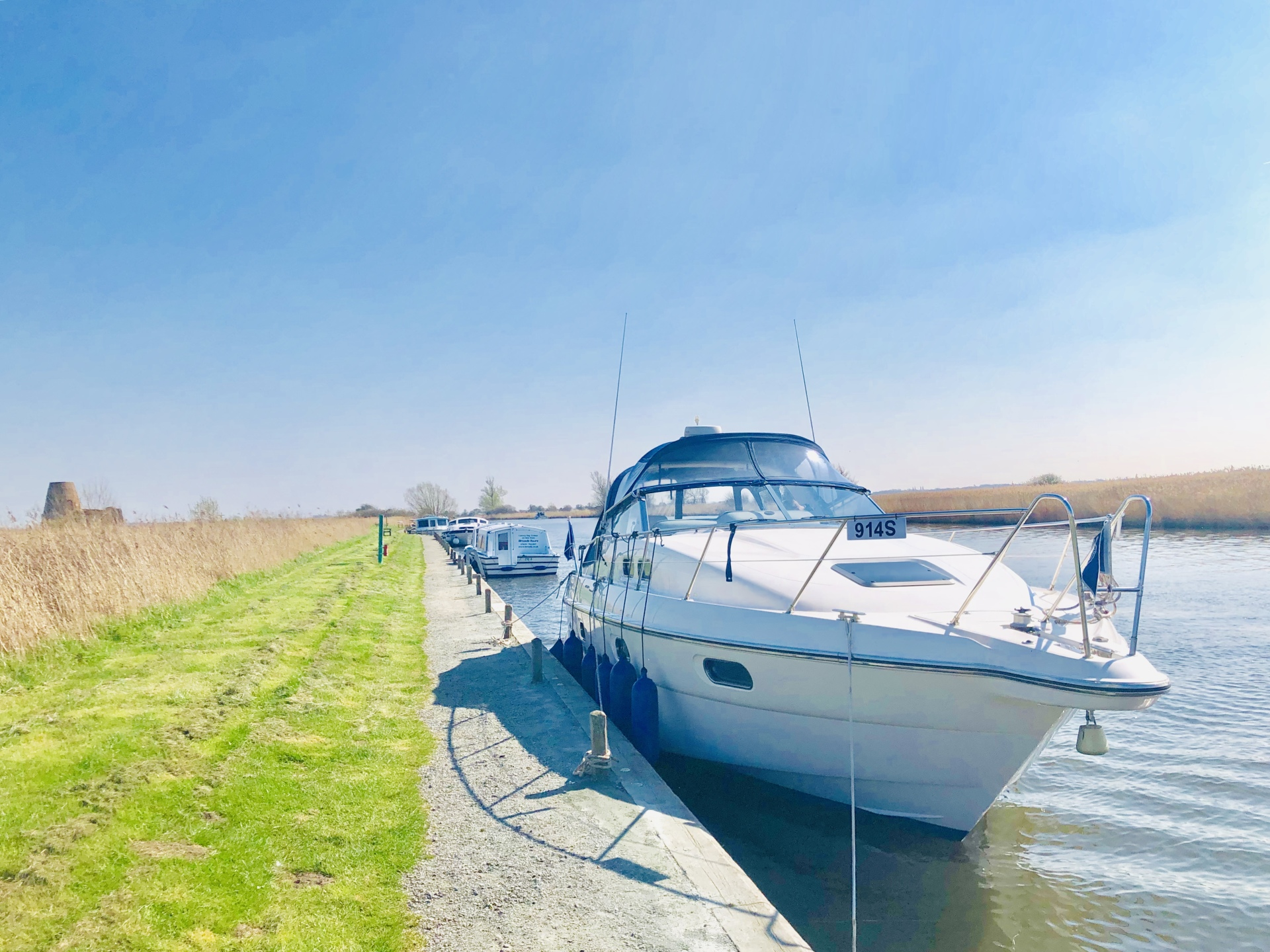 Norfolk Broads, St Benet's Abbey, Norfolk Time, Charter Boat, Day Boat Hire